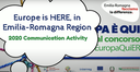 L'Europa è QUI, l'Emilia-Romagna vince il Communication Awards2020