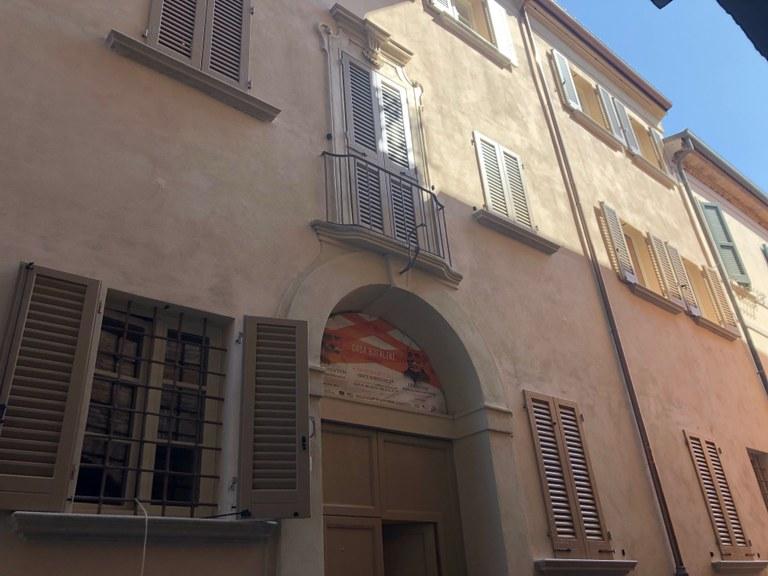 L'ingresso del Laboratorio aperto di Cesena