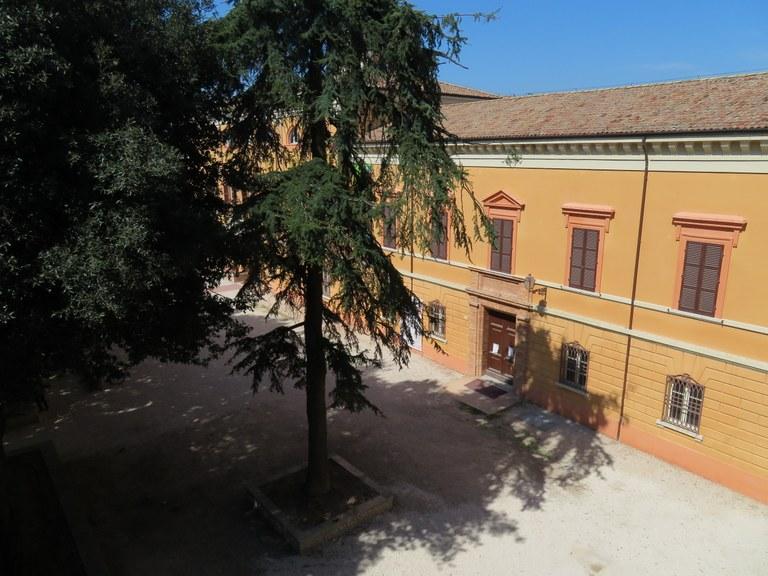 La Biblioteca Malatestiana vista dal Laboratorio aperto