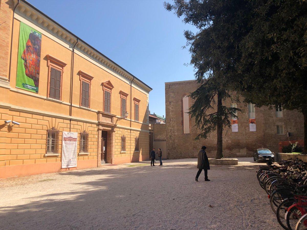 Casa Bufalini vista dalla Piazza della Malatestiana