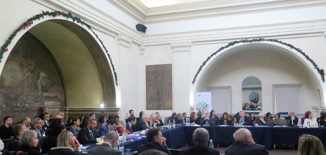 La riunione dei Comitati di sorveglianza Por Fesr Fse