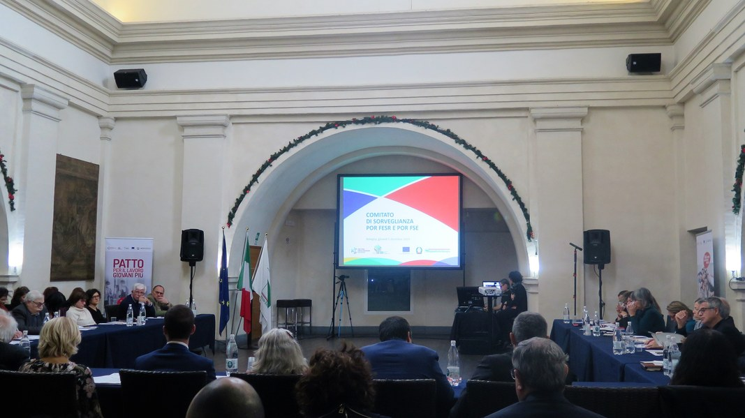 Bologna, 5 dicembre 2019: apertura dei lavori