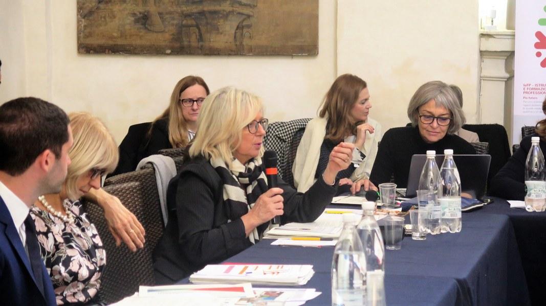 L'Autorità di gestione Por Fesr Fse Morena Diazzi illustra lo stato di avanzamento dei programmi