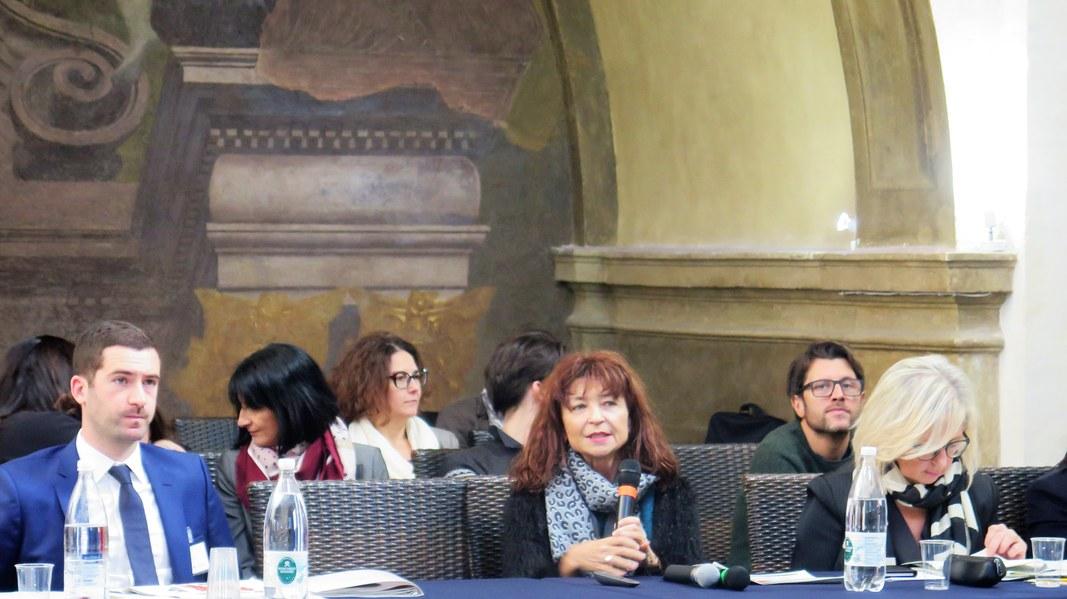 Anna Maria Linsalata, responsabile comunicazione Por Fesr Fse, illustra le ultime attività