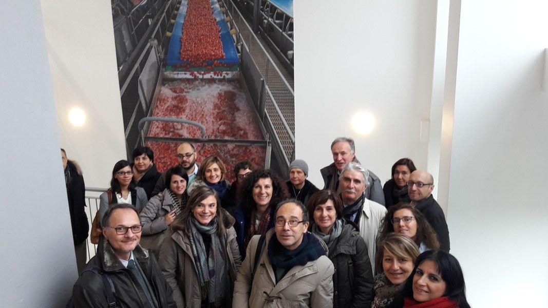 I partecipanti al Comitato