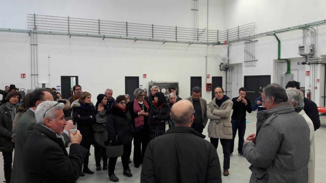 La visita al Tecnopolo di Parma