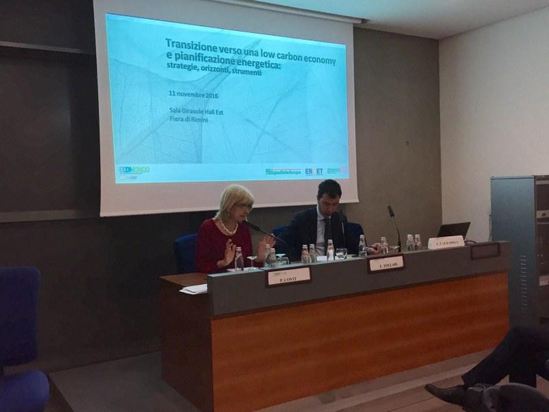 L'intervento dell'assessora regionale Palma Costi al convegno