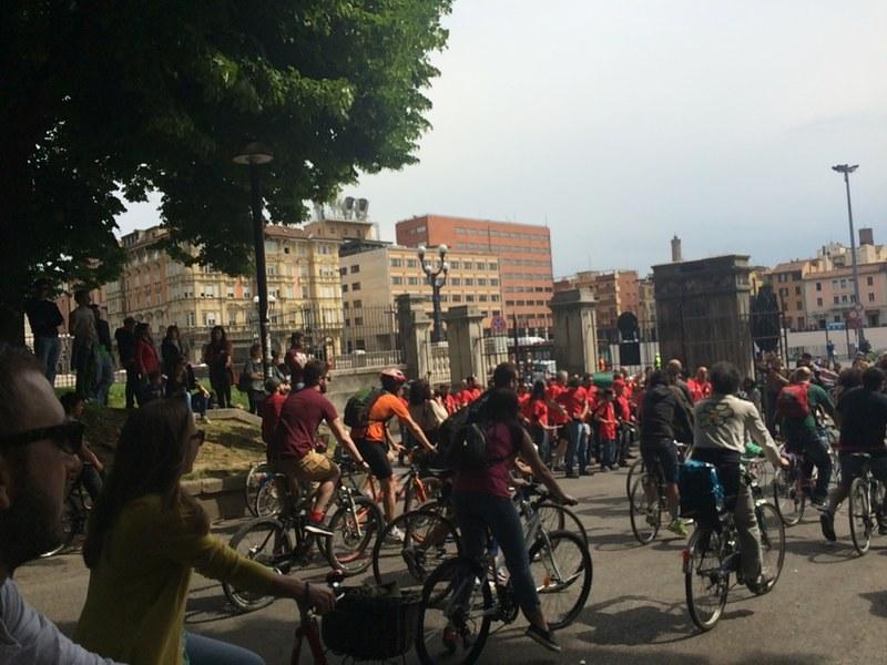 Partenza biciclettata
