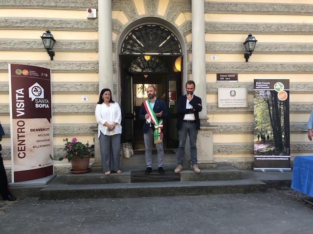 Inaugurazione del Centro visita del Parco nazionale Foreste Casentinesi, Monte Falterona e Campigna