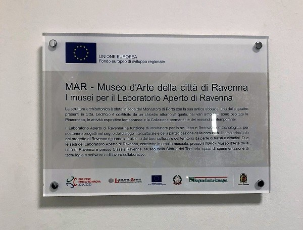 Laboratorio aperto all'interno dei musei di Ravenna
