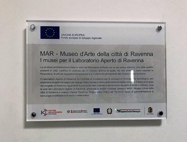 Laboratorio aperto all'interno dei musei di Ravenna