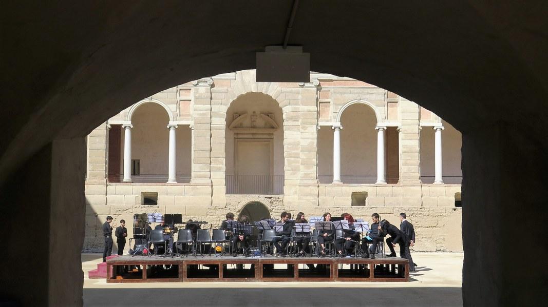Esibizione dell'Istituto superiore di studi musicali Peri-Merulo