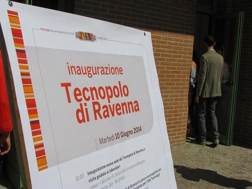 Il manifesto dell'inaugurazione