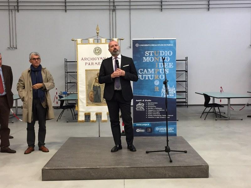 L'intervento del presidente della Regione Stefano Bonaccini