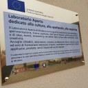 La targa sui contributi europei