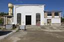 Lavori in corso: la facciata dell'ex centrale Aem