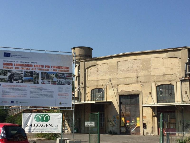L'edificio ex Aem