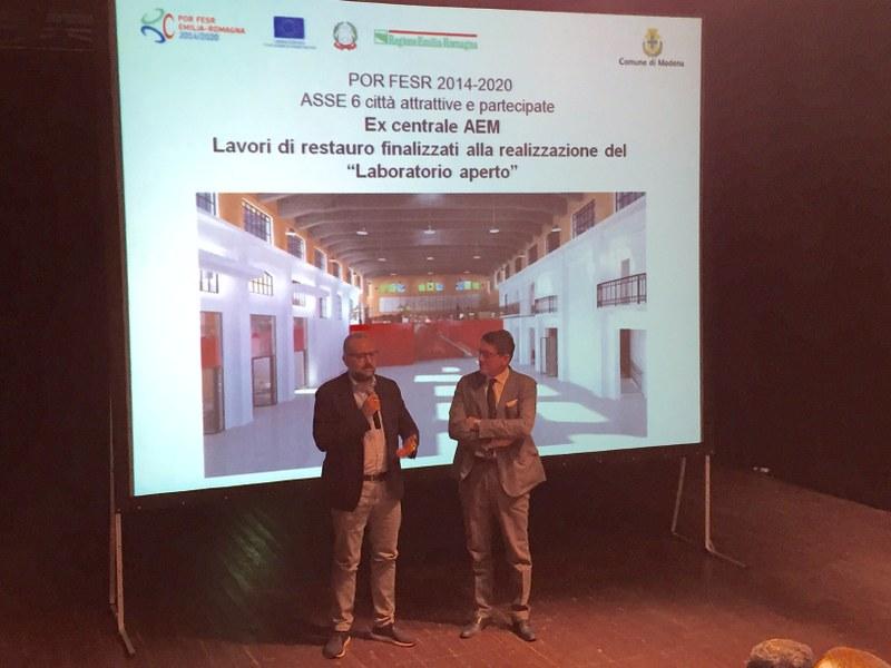 L'intervento dell'assessore regionale Massimo Mezzetti