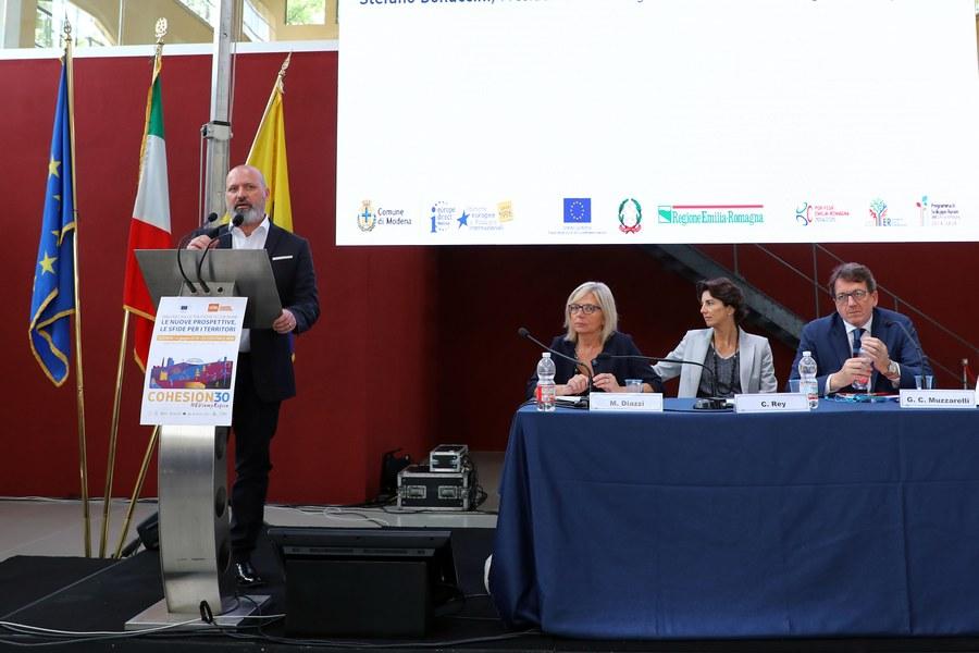 L'intervento di Stefano Bonaccini, Presidente Regione Emilia-Romagna