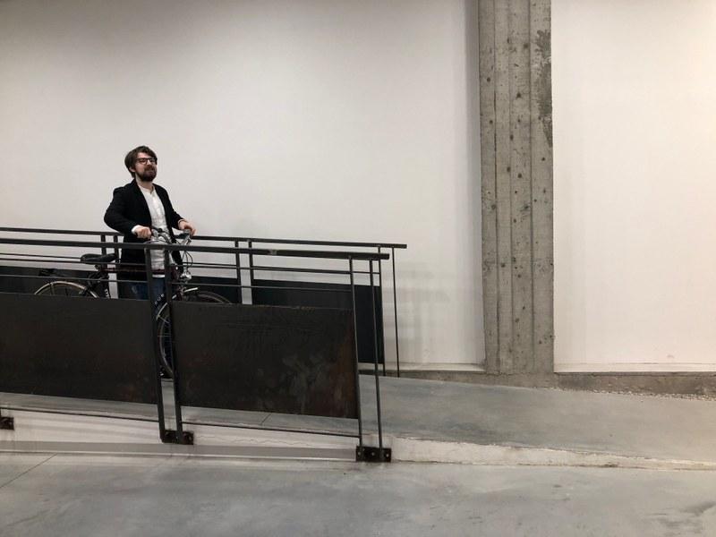 In bici dentro al Laboratorio aperto di Ferrara