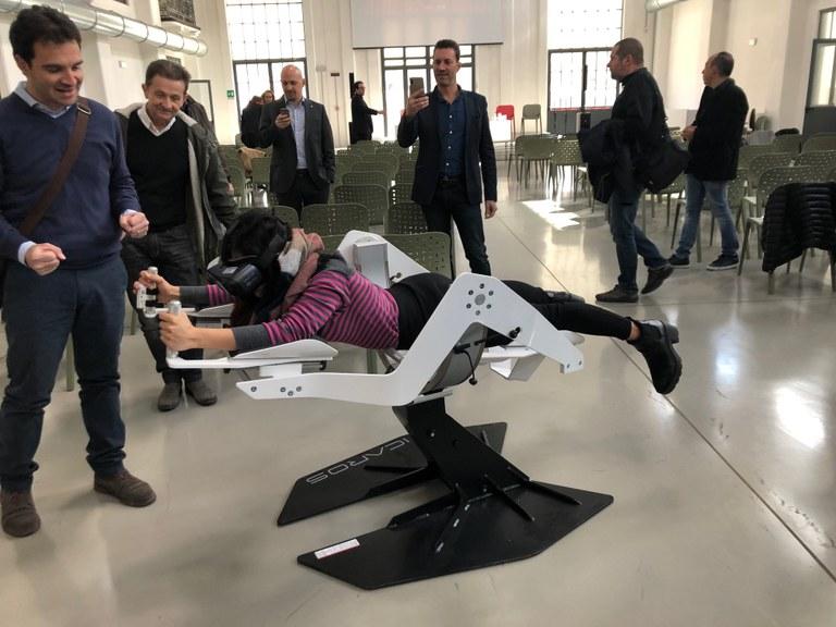 Realtà virtuale: in volo sulla città