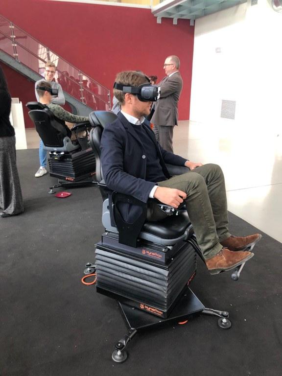 Primi test di realtà virtuale