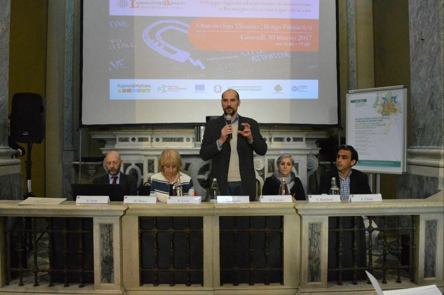 Intervento di Giovanni Marani, assessore del Comune di Parma