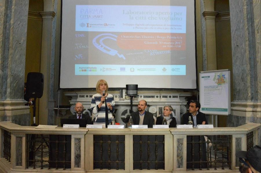 L'intervento di Palma Costi, assessore Attività produttive Regione Emilia-Romagna