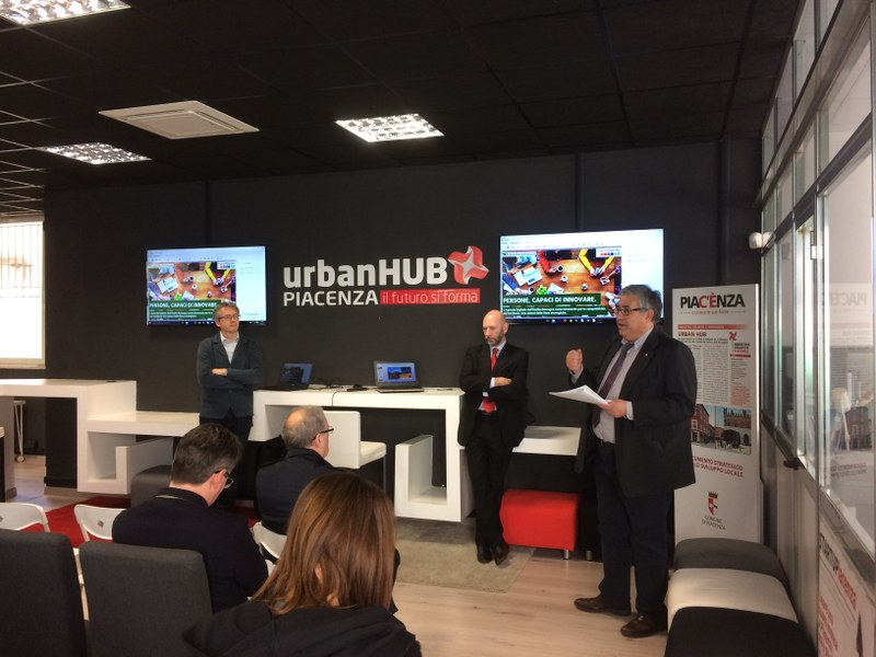 Un momento della presentazione dello Smart City Index a Piacenza