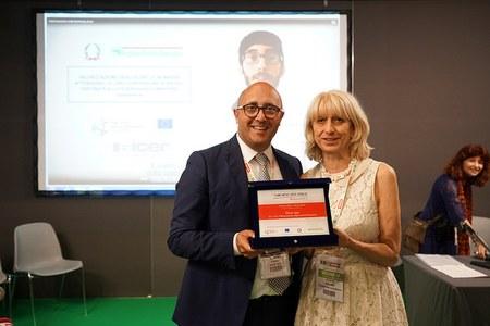 Premiazione concorso spot video Io investo QUI a R2B 2018