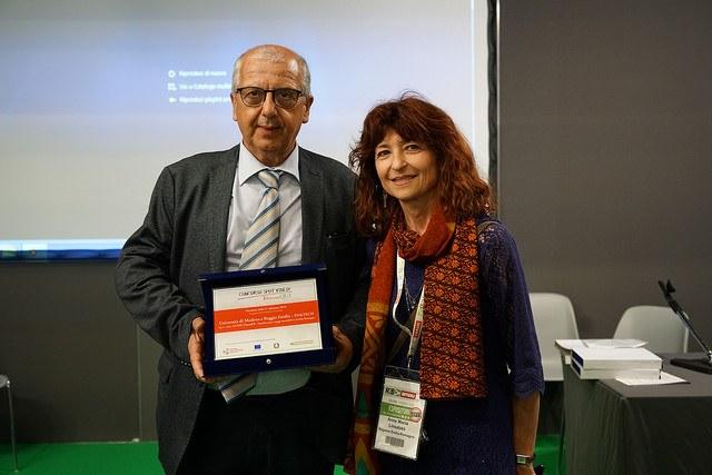 Il Dg del Comune di Modena Giuseppe Dieci per il video del Laboratorio aperto