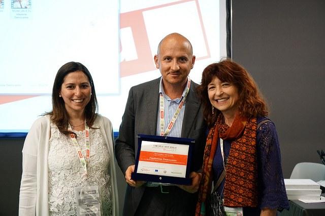 Il Prof. Massimo Dominici di Fondazione Democenter per il video TECNO_EN-P
