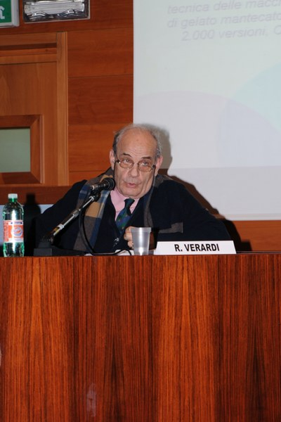 Romano Verardi, presidente Fondazione Bruto e Poerio Carpigiani