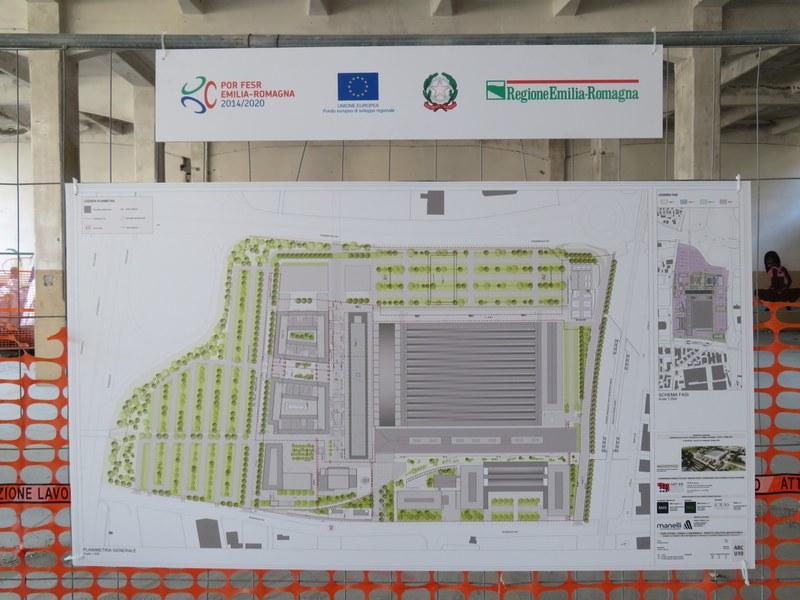 Mappa Tecnopolo Bologna