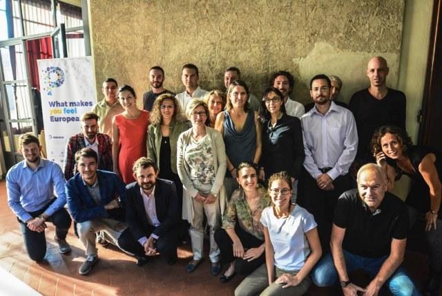 Con il team del progetto Perceive per riflettere sulla cittadinanza europea