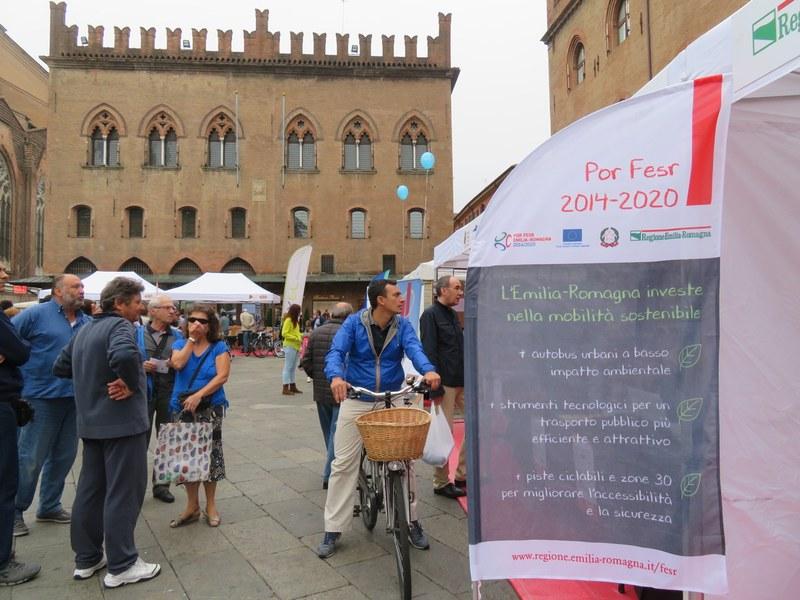 Infopoint Por Fesr al Mobility Village a Bologna