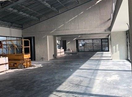 L'interno dell'area laboratoriale