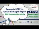 Europe is here, in Emilia-Romagna Region