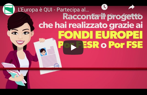 L'Europa è QUI: al via il concorso 2020