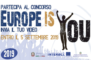 Europe is you: concorso video amatoriale rivolto a cittadini e studenti