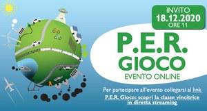P.E.R. Gioco, il 18 dicembre premiazione del torneo sulla sostenibilità