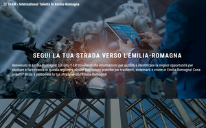 Online il portale IT-ER, International Talents in Emilia-Romagna