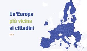 Più di un italiano su due conosce la Politica di coesione europea