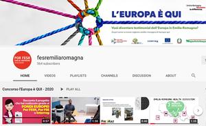 L'Europa è QUI, 114 candidature ammesse al concorso