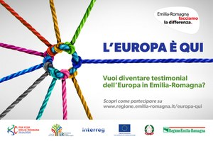 L'Europa è QUI: c'è ancora tempo per partecipare al concorso