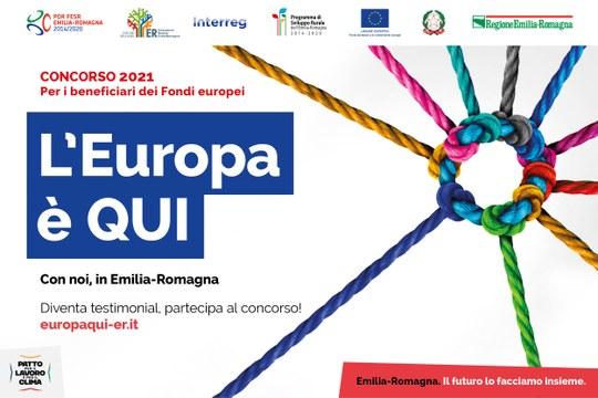 L'Europa è QUI: c'è più tempo per partecipare al concorso