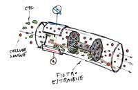 Laboratorio di bioscienze IRST - Dispositivo  per l'eliminazione delle cellule tumorali circolanti