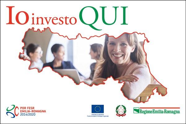 Banner campagna Io investo QUI 2018